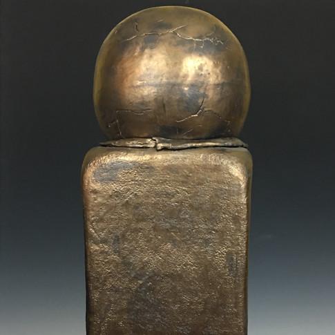 Bronze Glazed Sculpture