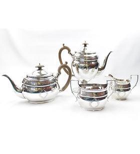 Silver Tea set hyperion auctions