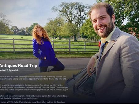 BBC Antiques Road Trip Comes to Hyperion's Antiques Centre