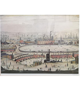 lowry the pond signed hyperion auctions