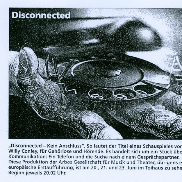 """""""Disconnected"""""""