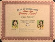 Miles and Mow Literary Award