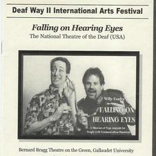 """""""Falling on Hearing Eyes"""""""