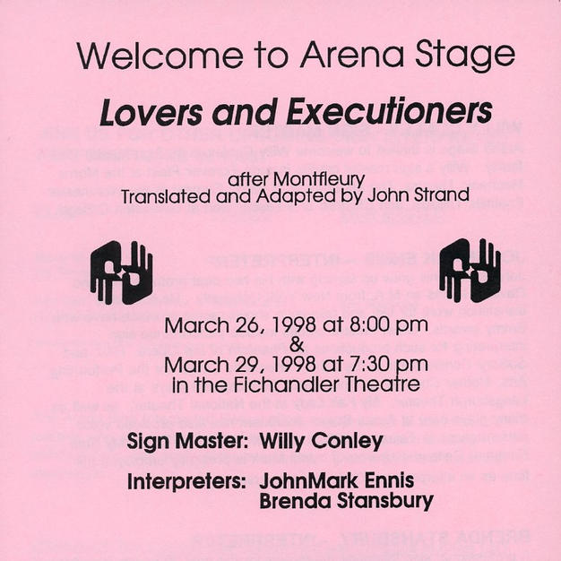 """""""Lovers and Executioners"""""""