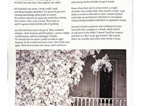 Black & White Photo Published in Camas