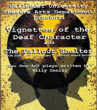 """Twin Bill: """"Vignettes of the Deaf Character"""" and """"The Fallout Shelter"""""""