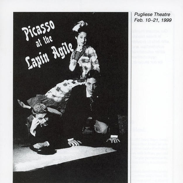 """""""Picasso at the Lapin Agile"""""""