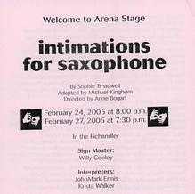 """Imitations for Saxophone"""