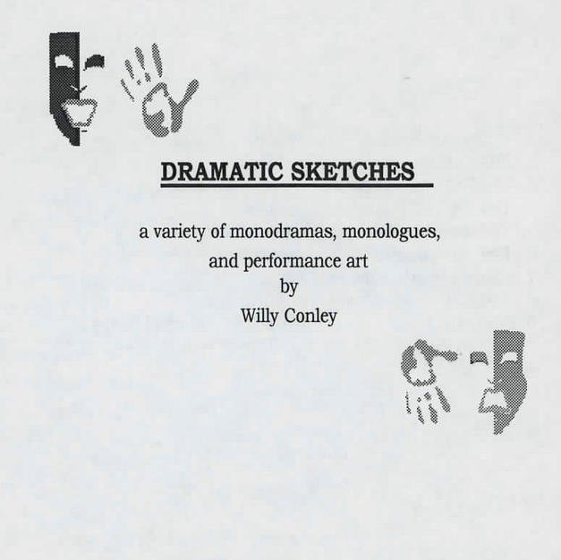 """One-Man-Show: """"Dramatic Sketches"""