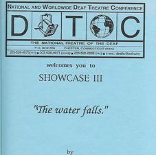 "Showcase: ""The water falls."""