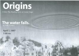 "Postcard photo: ""The water falls."""