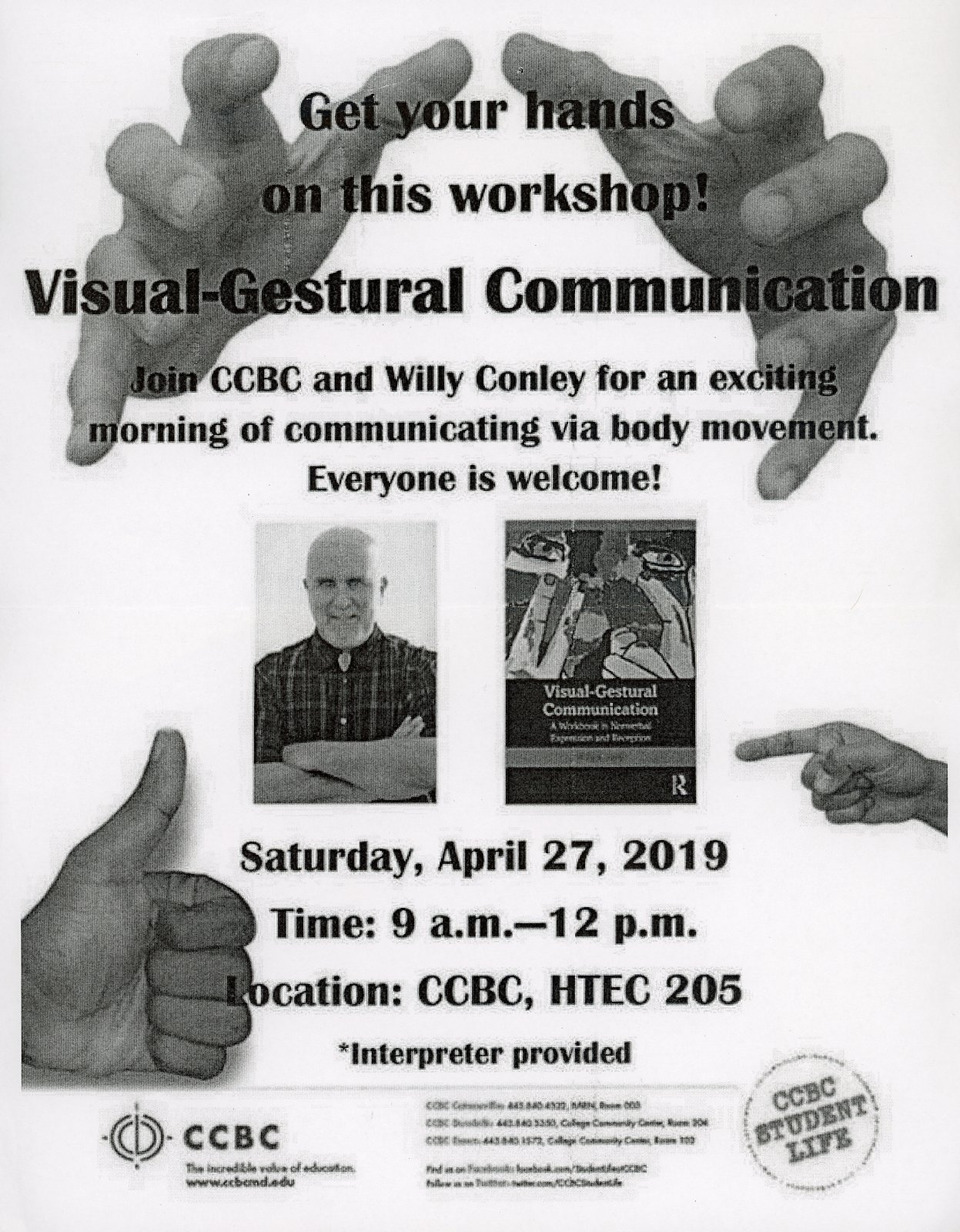 Visual-Gestural Communication Workshop