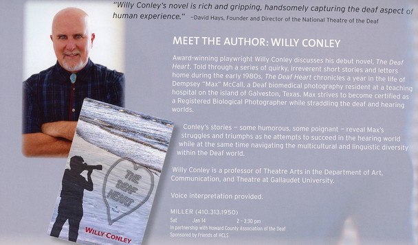 """Article: """"Meet the Author - Willy Conley"""""""