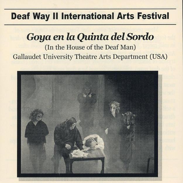"""Goya: en la Quinta del Sordo (in the house of the deaf man)"""