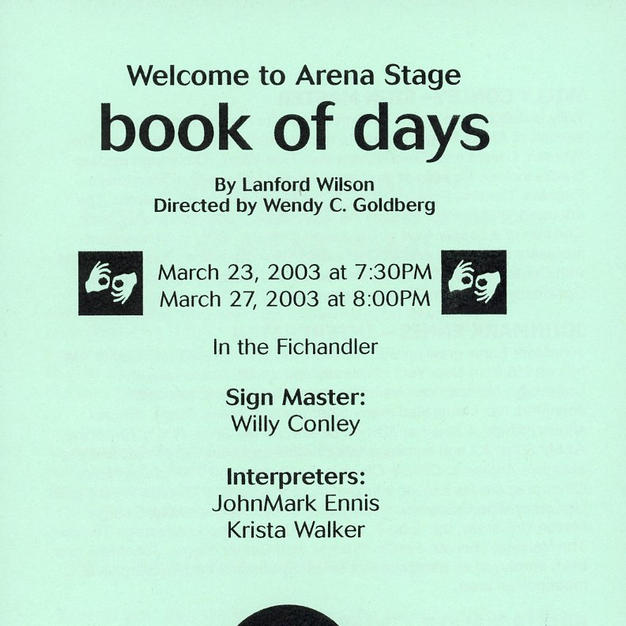 """""""Book of Days"""""""