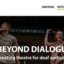 """Writings quoted in """"Beyond Dialogue -- Creating theatre for deaf audiences"""""""