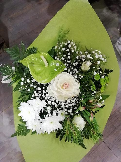 Bouquet Bouquetterie Dominante Blanche