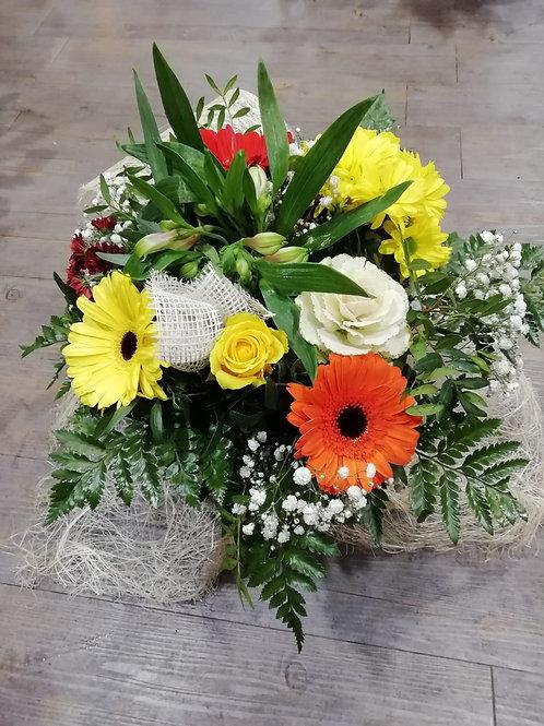 Bouquet Rond Couleur Chaude
