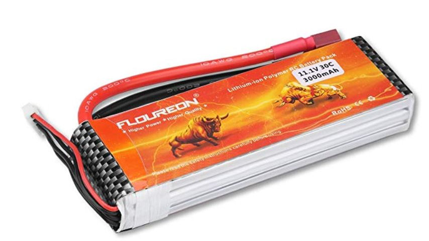 Lithium Polymer Battery - 11.1V, 3000mAh