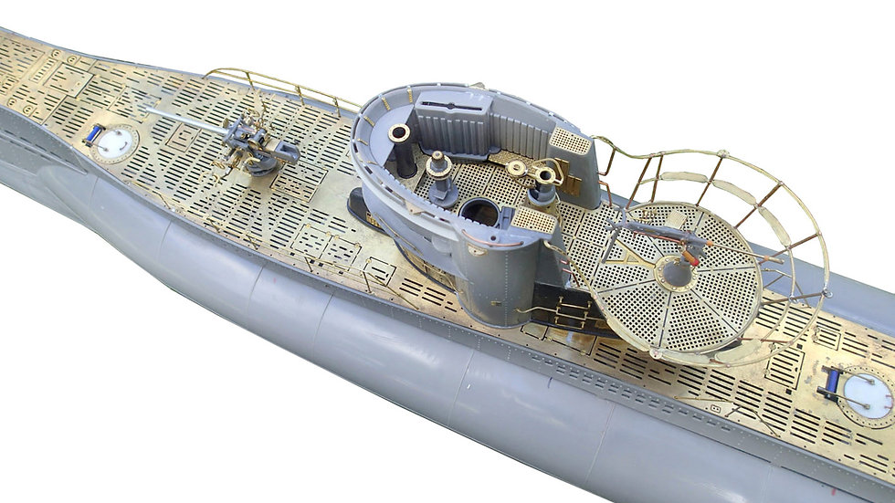 Photoetch Detail Set 1:48 Type VII Uboat - Trumpeter