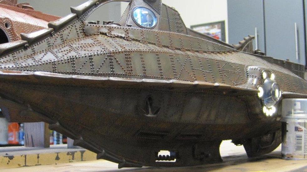1:48 Scale 20,000 Leagues Under the Sea Nautilus Submarine Kit