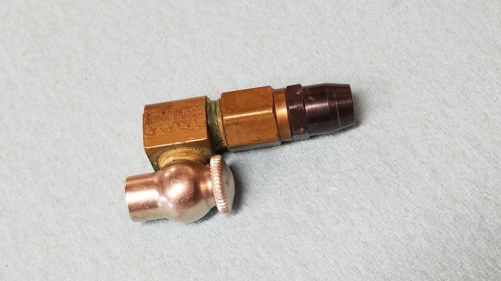 Gas Ballast Fill Adapter