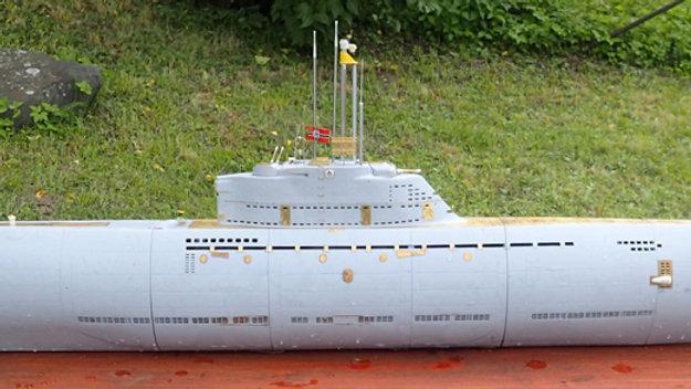 German Type XXI in 1:48 Scale