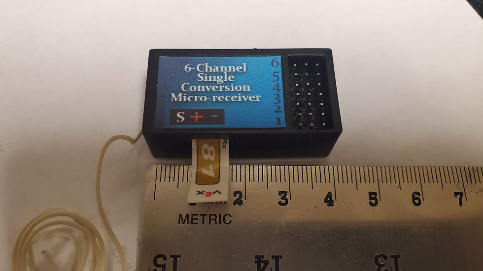 6-Channel Micro Receiver