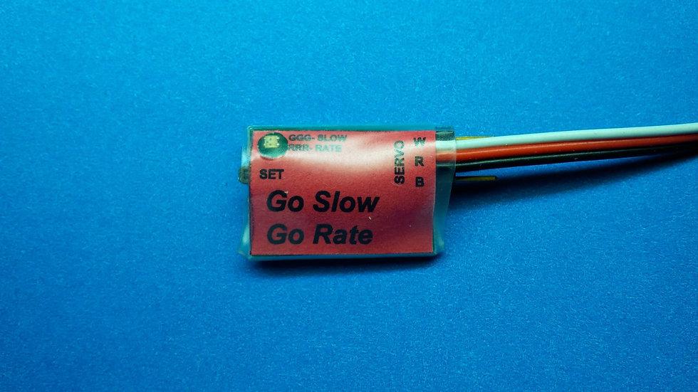 Go Slow - Servo control module