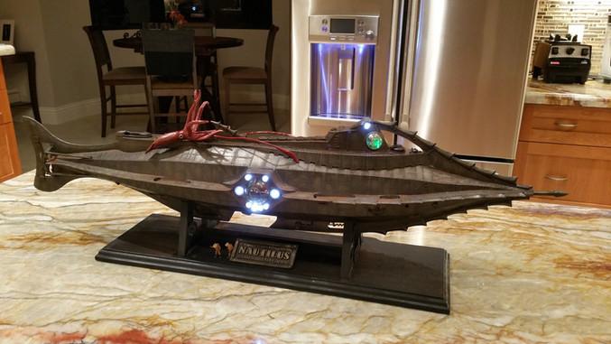 NAUTILUS sets sail...