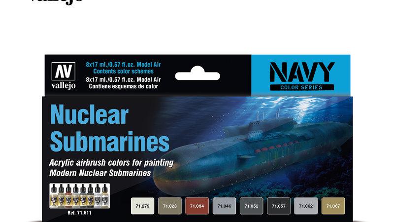 Acrylic Paint Set - Nuclear Submarines