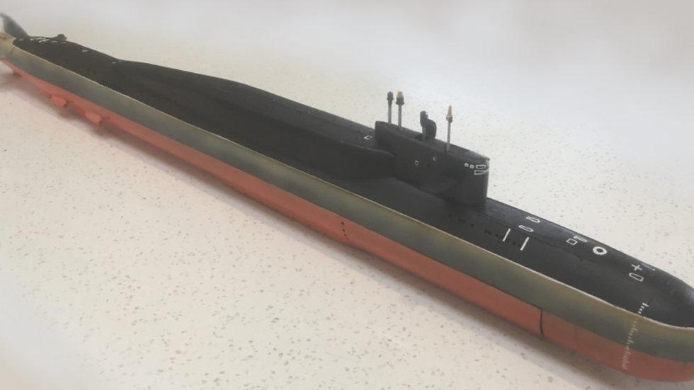 Russian Delta IV Model Kit in 1:140 scale