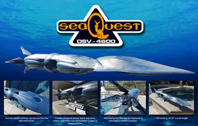 SeaQuest kit sets sail!