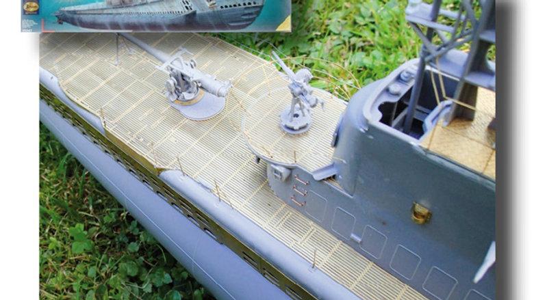 Photoetch Detail Set 1:72 scale Gato Class Submarine