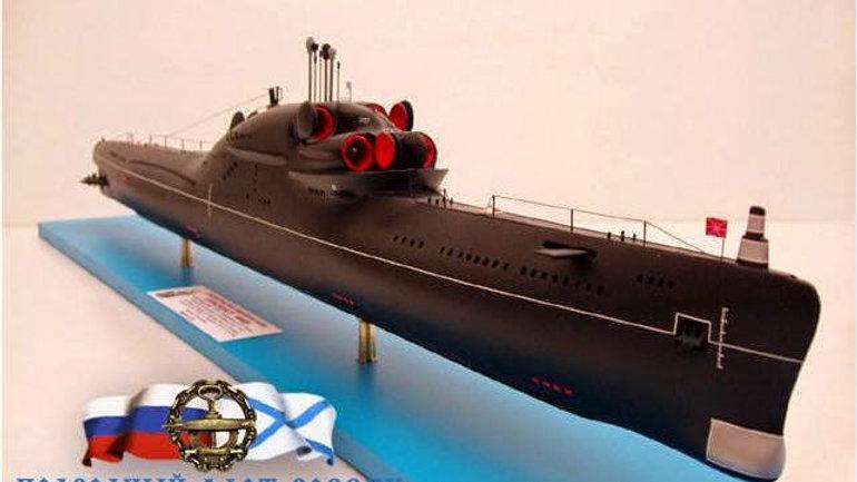Soviet Whiskey Long Bin Class in 1:50 Scale