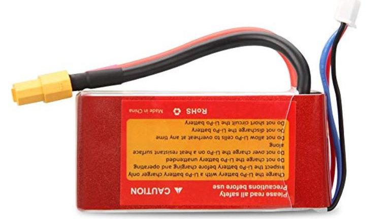 Lithium Polymer Battery - 11.1V, 1500mAh