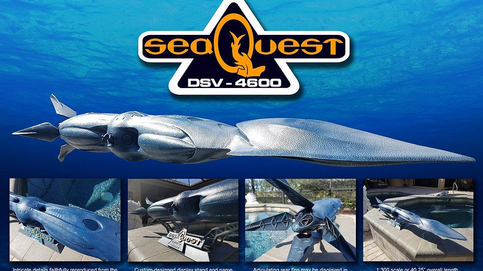 SeaQuest DSV in 1:300 scale
