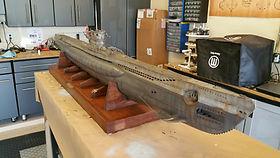 """82"""" German Type VII submarine"""