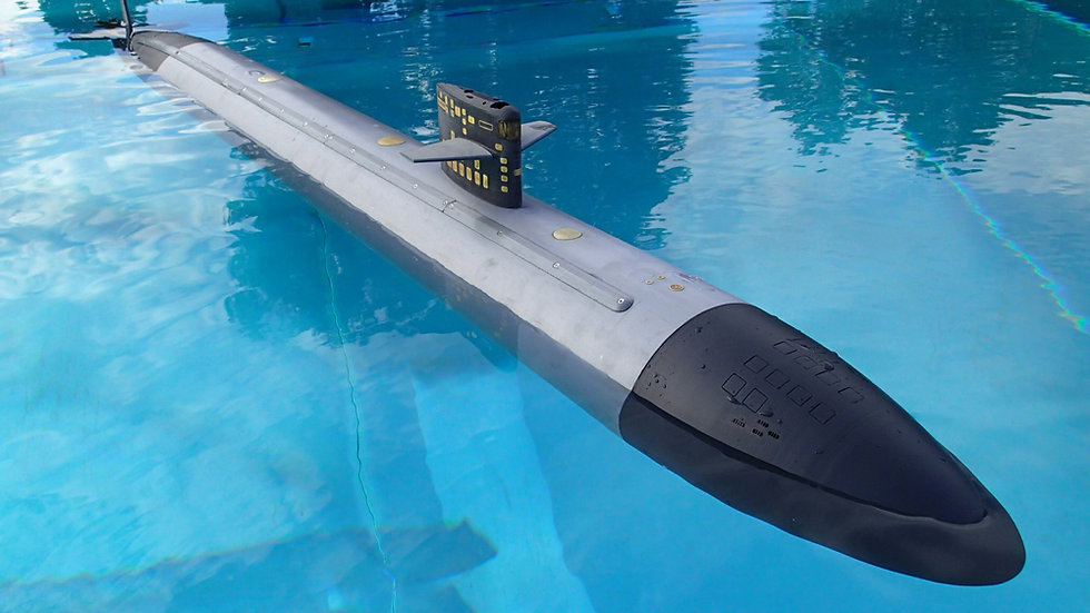 US Los Angeles-Class Submarine Kit in 1:72 Scale