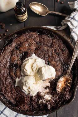 Hot Fudge Skillet Brownie