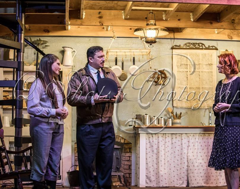 Southern Broadway's production of Harbor Lights
