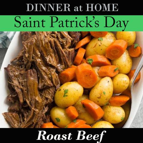Roast Beef Dinner for 1