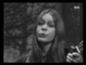 Hege Tunaal Bilde fra 60 -tallet TV-NRK.
