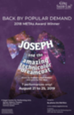 CSLDS Joseph remount at Segal poster 11x