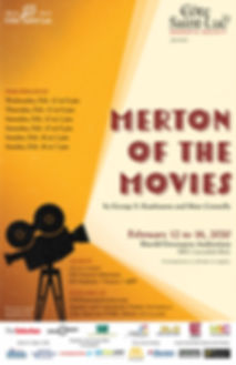 Merton of the Movies CSLDS poster 11x17