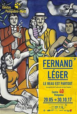 FERNAND LEGER - Le beau est partout