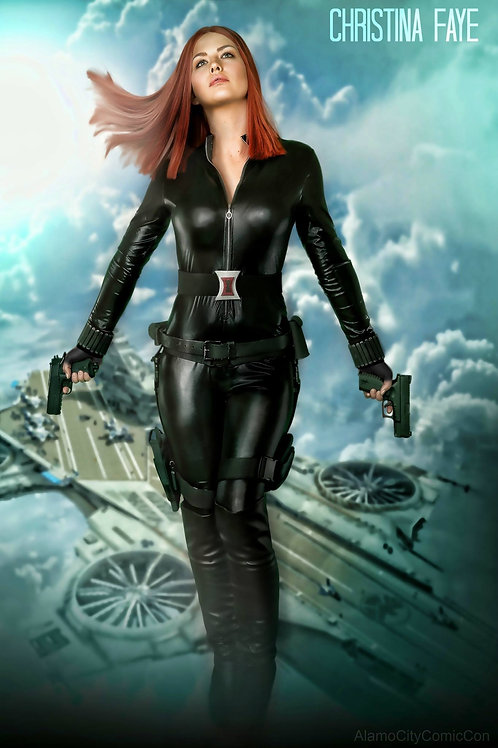 Captain America : Winter Soldier Natasha
