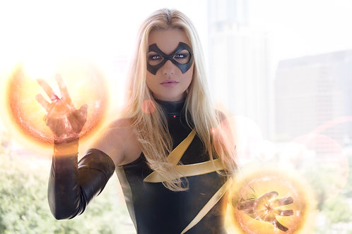 Fire Bombs Ms. Marvel