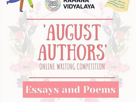 August Authors | Celebrating Young Writers