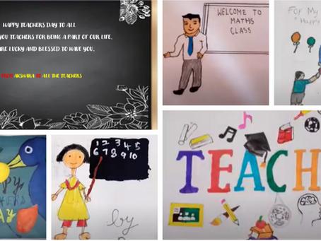 Virtual Teacher's Day Celebrations - 5th September 2020